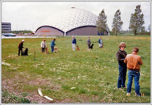 1e locatie AKC Aviodome 1983 1